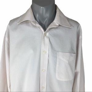 Bill Blass men's dress shirt 100% cotton